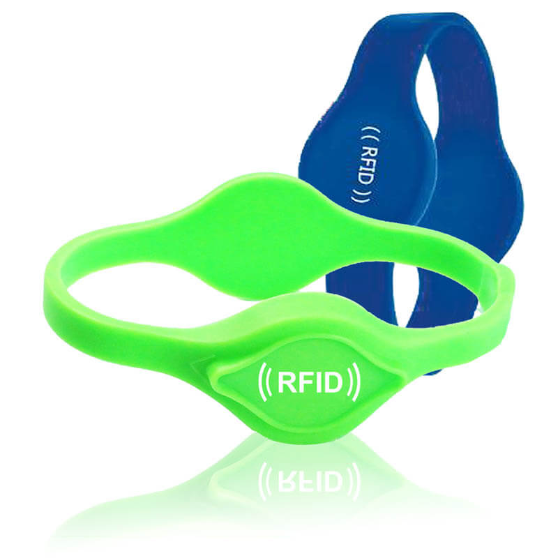 Double Heads RFID Silicone Wristband