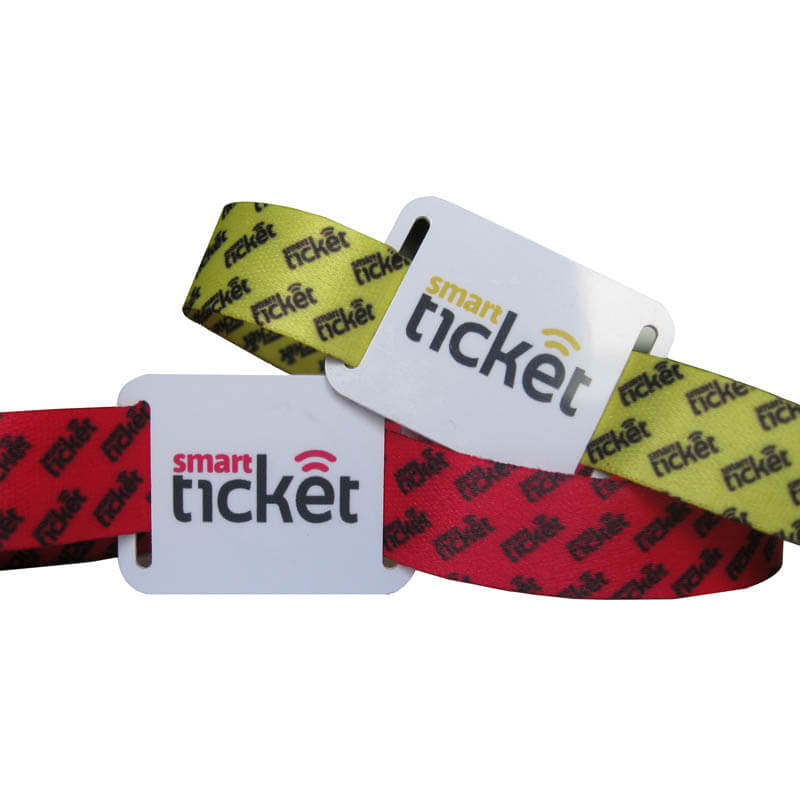 RFID Fabric Band With NTAG213 Chip