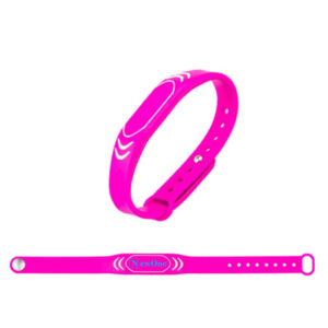 RFID Slim Adjustable Silicone Wristband