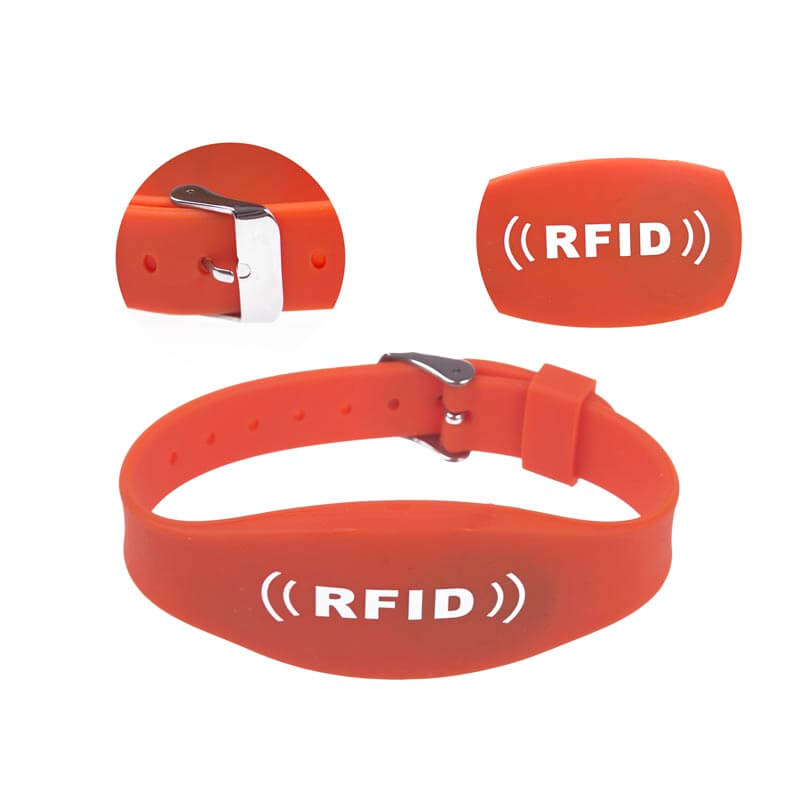 RFID Watch Strap Silicone Wristband