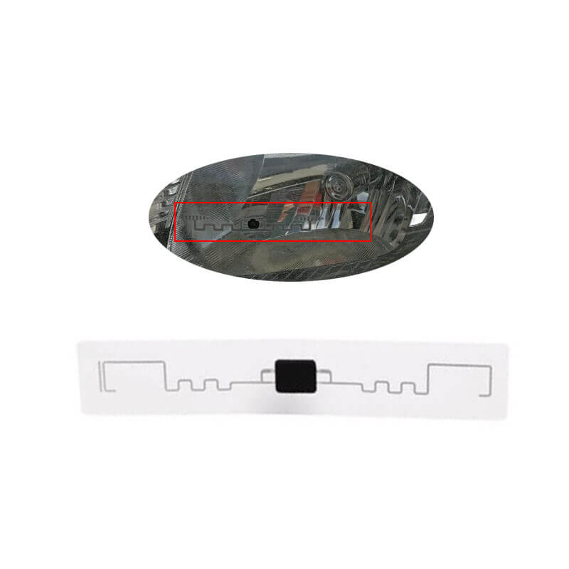 headlight rfid tag