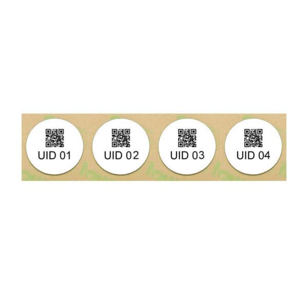 Black fast printing NFC tag