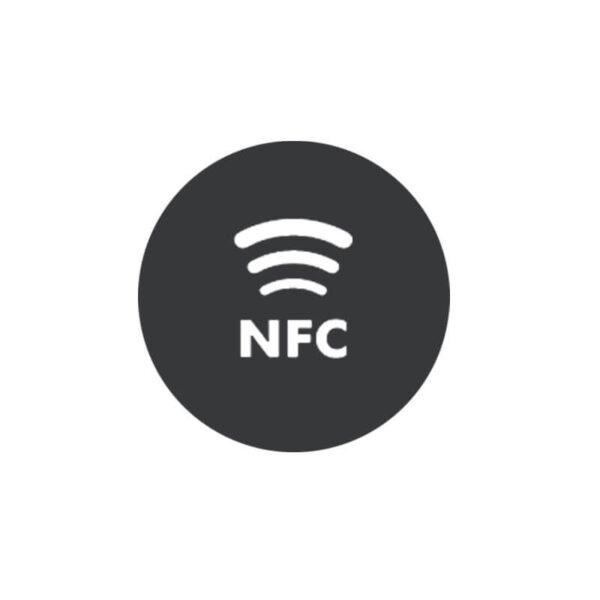 Customized silk screen printed NFC stickers