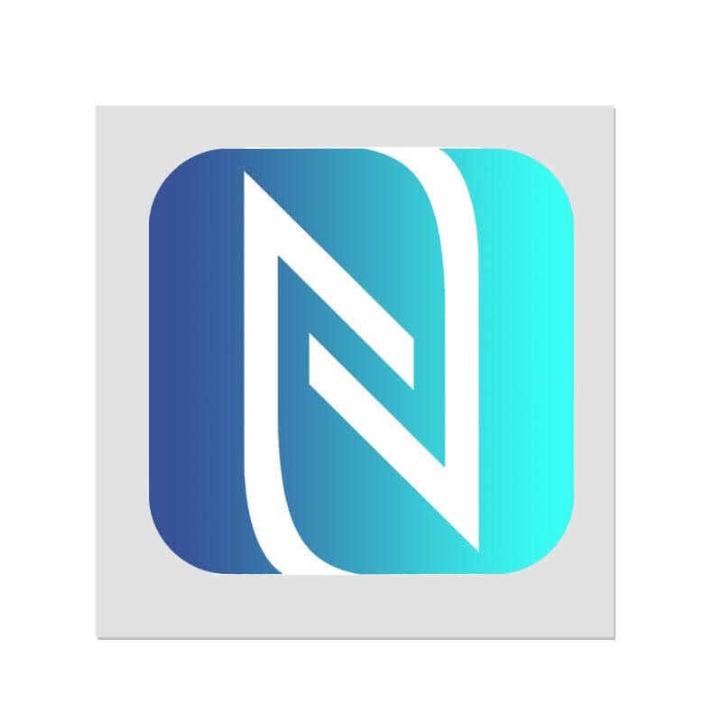 nfc logo sticker