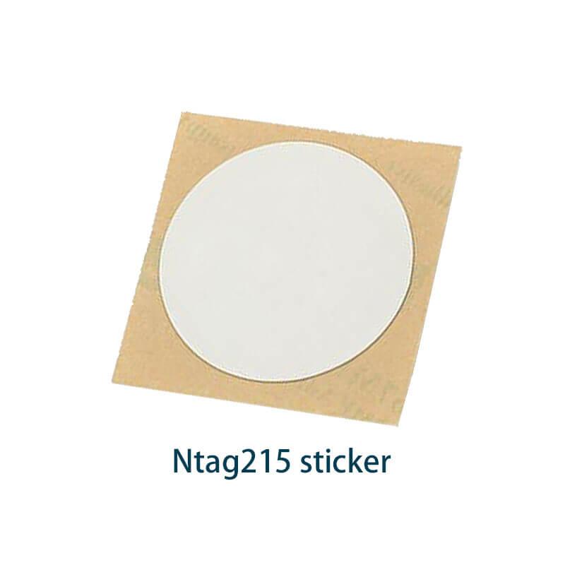 ntag215 blank sticker