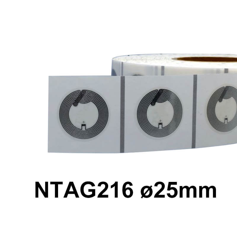 ntag216 wet inlay