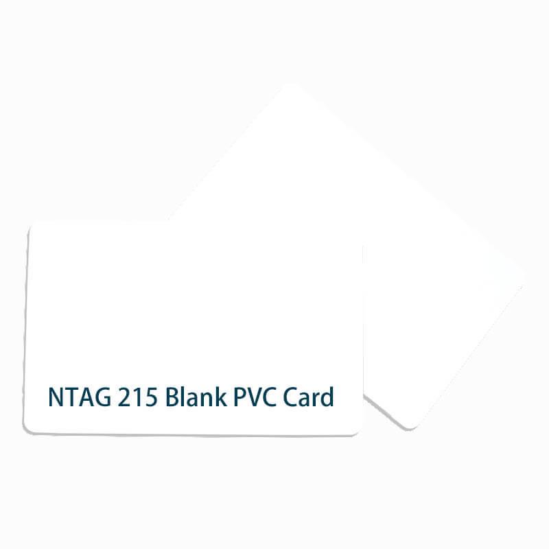 rfid ntag215 blank card